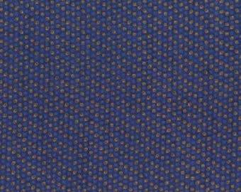 Blue patchwork fabric light beige pattern