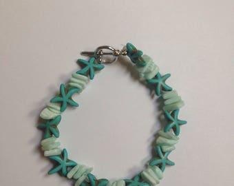 Seashell and starfish design