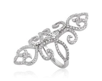 Diamonds Ring, 14K - 18K Gold + Diamonds