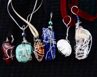 Custom Crystal Healing Necklace