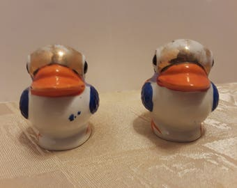 Bird Salt and Pepper Shakers, Vintage Made in Japan