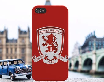 Middlesbrough Football Club FC Championship League Logo Phone Case Cover For iPhone Samsung models