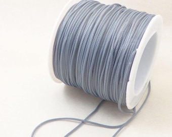 5 meters of satin cord 0.8 mm in diameter