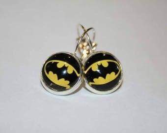 Batman Stirling Silver Sling earrings