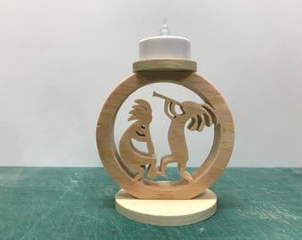 Kopopelli Circle tea Light
