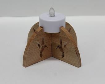 Hummingbird Tea Light
