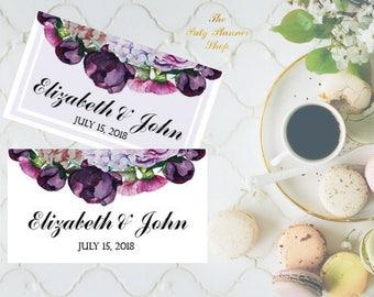Bridal Shower Customized Tags, Printable Custom Label, Custom Wedding Tag
