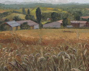 Golden Crops [JB Treatt] - English Countryside - Corn Field