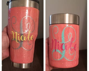 Glitter and Specially Tumblers