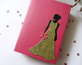Be My Bridesmaid Box, Hot Pink Bridesmaid Proposal Box, Maid of Honor Will You be my Bridesmaid Gift, Bridal Party Gift Wedding Announcement