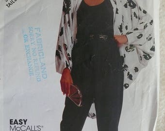 Women's Jacket, Top and Pants Pattern - Vintage McCall's 4000 - Size 16-20