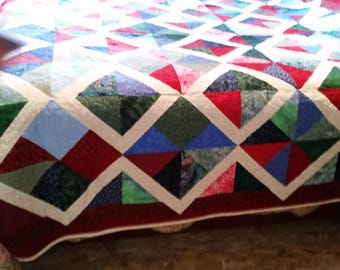 Christmas is Here, bed Quilt
