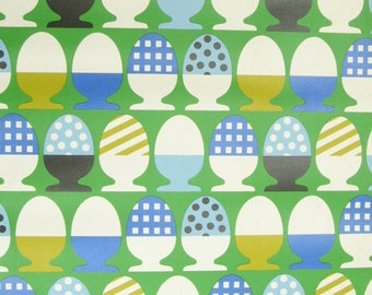 Vintage Wallpaper Eggparade per meter
