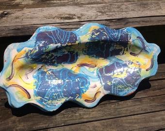 Elephant Ceramic Platter