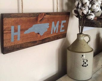 HOME State Sign. Message us to select your state and paint color!