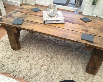 Pallet coffee table/made to order/rustic/unique
