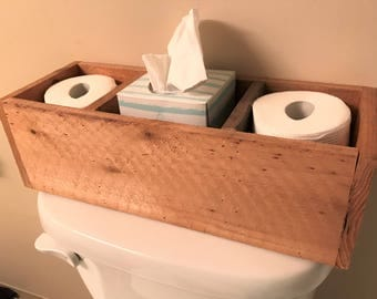 Toilet Topper/Toilet Paper Holder