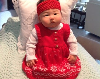"""AN MING Lovely Reborn Baby Girl Sculpted By Ping Lau 20""""4lbs"""