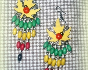 ORIGINAL: big ethnic earrings *.