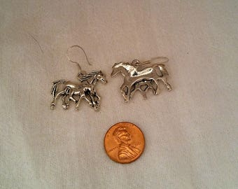 Mare and Foal Earrings