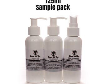 Sample Pack Conditioner Shampoo Detangler Hair Wash Travel Pack Beauty Gift Pack