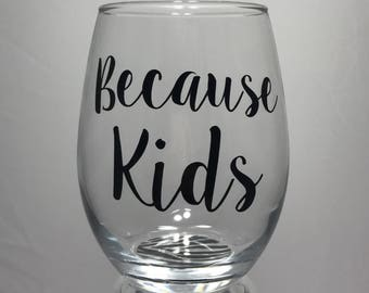 Stemless Wine Glass- 21oz