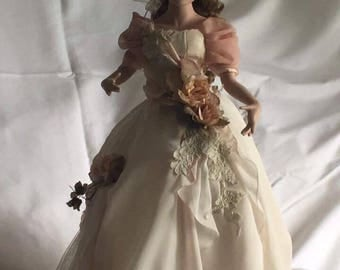 Porcelain Doll Display Top