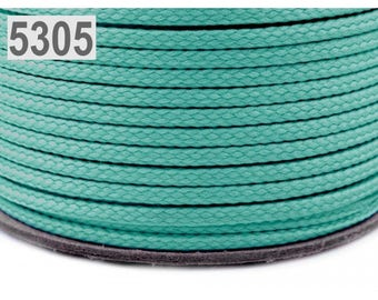 1 m green water polyester cord