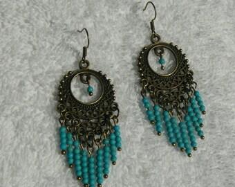 oriental style earring
