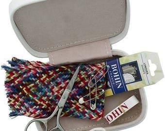 Sewing pins Secret sewing kit - gray