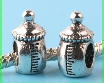 Pearl European N184 bottle for bracelet charms