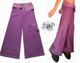 Salome: purple oversized pants