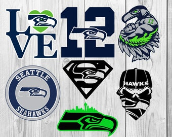 Seattle Seahawks SVG, Seattle Seahawks DXF PNG cutting file, Printable, T-shirt Design, Scrapbooking Clipart