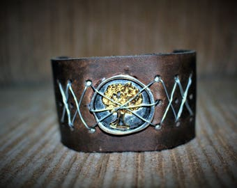 The Giving Tree Leather Bracelet