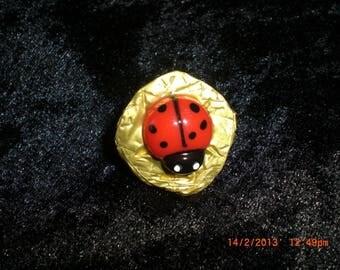 """Ring """"Ladybug Lady"""""""