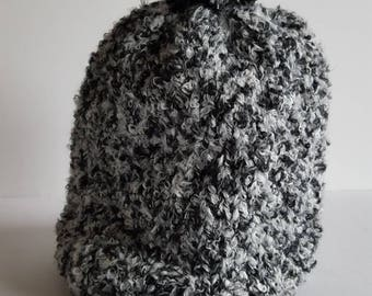 The hand knit winter Hat