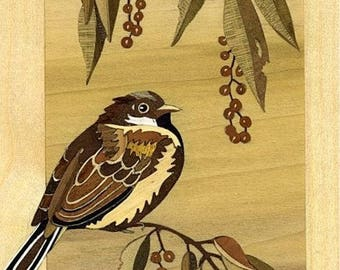 marquetry Sparrow