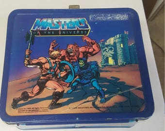 He Man Lunch Box