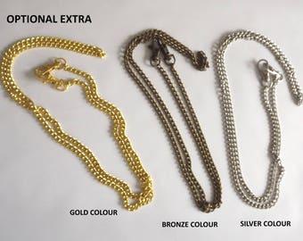 Long Metal Chain Bag Strap 120cm