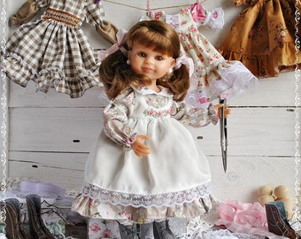 The outfit on the doll 32-34 cm Paola Reina