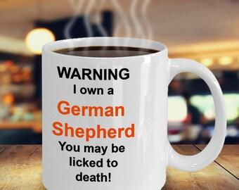 German Shepherd Novelty Mug