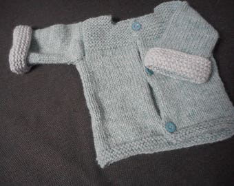 very pretty hand - baby knitted jacket
