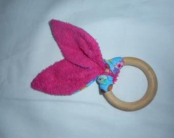 rattle bunny ears, ideal birthday gift