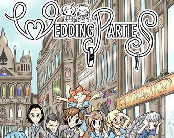 Wedding Parties - Volume 1 Signed
