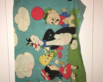 Vintage Looney Tunes Fun Fair Pillow Case