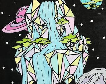 Crystal Waterfall
