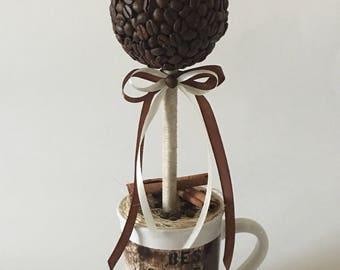 Coffee Bean Topiary