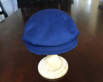 Infant boy newsboy cap