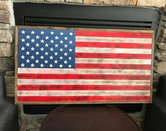 Hand made flags