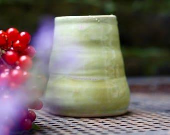 Handmade ceramic vase, budvase, flower display